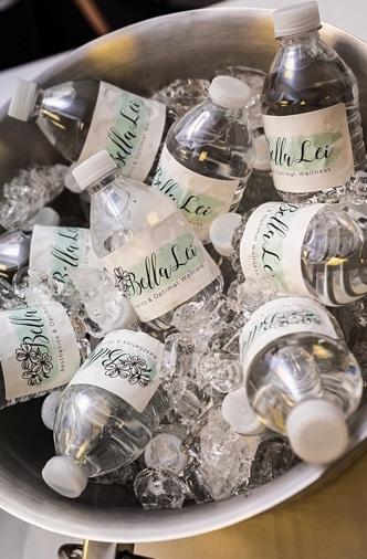 Water Bottles at Bella Lei